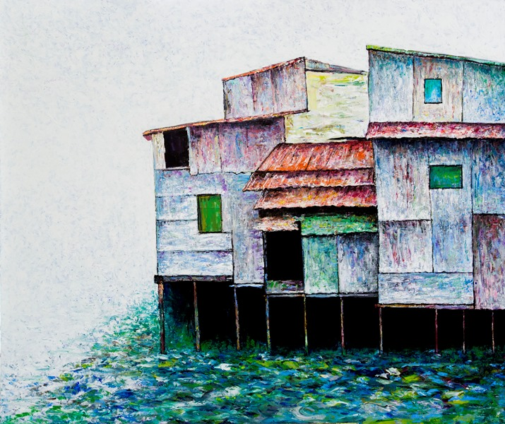 Saigon Floating Houses,July2019
